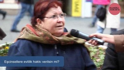 Eşcinsellere evlilik hakkı verilsin mi? - Sokak Röportajı