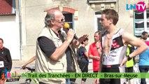 Interview de Flavien, premier du 24 km - Trail des Tranchées