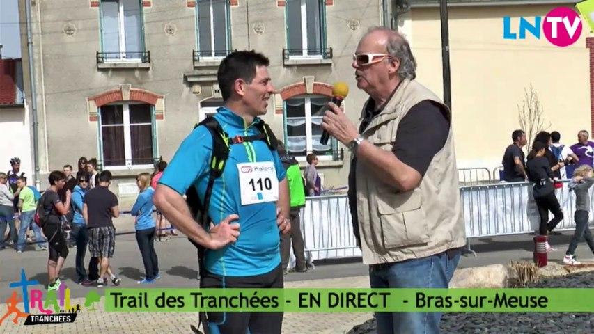 Interview de Frédéric, coureur du 24 km - Trail des Tranchées 2014
