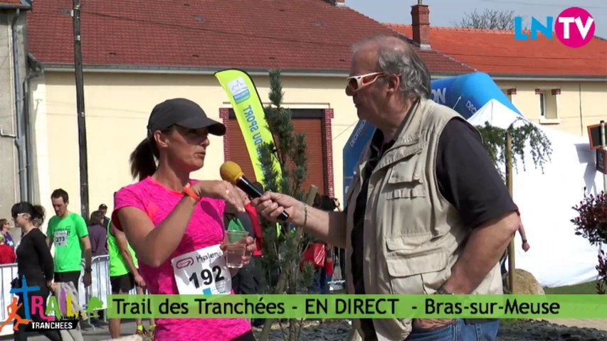 Interview de la première féminine du 24 km - Trail des Tranchées 2014