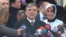 Cumhurbaşkanı Abdullah Gül sandığa gitti