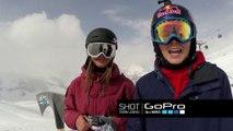 Suzuki Nine Queens 2014  GoPro Course Check - Snowboard & Ski