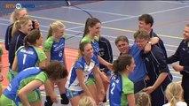 Een moeizaam seizoen krijgt een mooi einde voor dames Lycurgus - RTV Noord