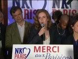 """Nathalie Kosciusko-Morizet : """"Nous gagnons de nombreux sièges au Conseil de Paris"""" - 30/03"""