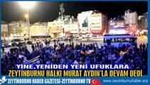 Murat Aydın 4.Kez Zeytinburnu Belediye Başkanı oldu