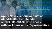 Allied Health Institute Admissions Process   AlliedHealthInstitute.com