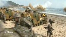 Echanges de tirs entre Corée du Nord et Corée du Sud lors d'exerices militaires