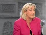 """Marine Le Pen: """"Mon objectif, c'est d'arriver en tête aux Européennes"""" - 31/03"""