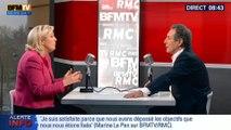 Marine Le Pen : « Le Front national peut arriver en tête aux élections européennes »