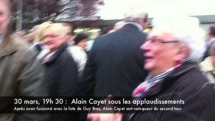 Alain Cayet détrône Annie Cardon à la mairie de Saint-Nicolas