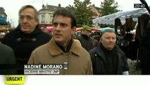 """N.Morano """"Sans changement, Valls à Matignon n'apporte pas grand chose [31.03.2014]"""