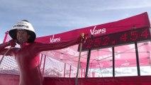 Un Italien flashé à 252,454 km/h sur des skis