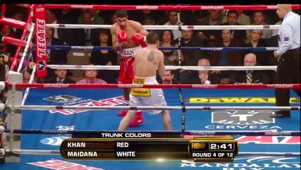 Amir Khan vs Marcos Maidana Full Fight