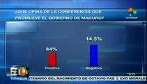Encuestas afirman que los venezolanos apoyan gestión de Nicolás Maduro