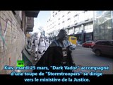 """Ukraine, """"Dark Vador"""" candidat à l'élection présidentielle (!??) RT/VOSTFR"""