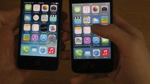 iPhone 4S iOS 7.1 Final vs. iPhone 4 iOS 7.1 Final - Comparison Review