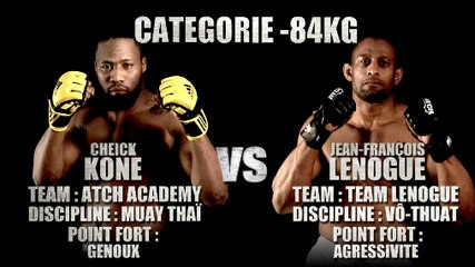 100%FIGHT 20 - TRAILER CHEICK KONE vs JEAN-FRANCOIS LENOGUE