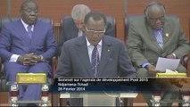 DISCOURS - Idriss DEBY ITNO - Président de la République - Tchad