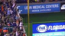 Las Grandes Ligas  Multimedia  Videos en Espanol   COL@MIA  Ozuna's home run puts Marlins on top - Video