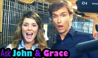 LIKING BIG BUTTS, BEING WICKED & SINGING SONGS: Ask John & Grace