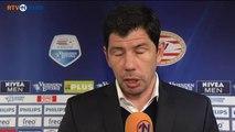 Reactie Erwin van de Looi na de wedstrijd tegen PSV - RTV Noord