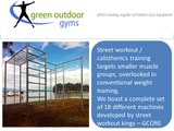 Green Outdoor Gyms : Gym Equipment Suppliers