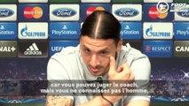 "Zlatan Ibrahimovic : ""Mourinho a tout gagné"""