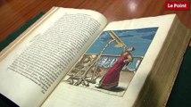Les incroyables trésors de l'Histoire : le plus ancien atlas de la Lune publié en 1647 par le Polonais Hevelius.