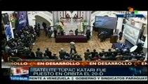 Satélite boliviano Túpac Katari inicia operaciones comerciales