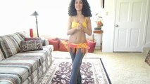 Learn to belly dance: the tango lunge