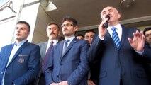 Belediye Başkanı Neşet Çağlayan'ın Belediye binası önünden halka seslenişi 01.04.2014