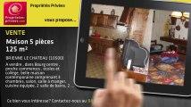 A vendre - maison - BRIENNE LE CHATEAU (10500) - 5 pièces - 125m²