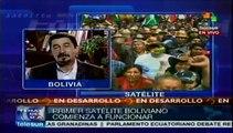 Bolivia: inicia operaciones comerciales satélite Túpac Katari