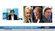 Quebec: Le tour inattendu de la campagne pour les legislatives