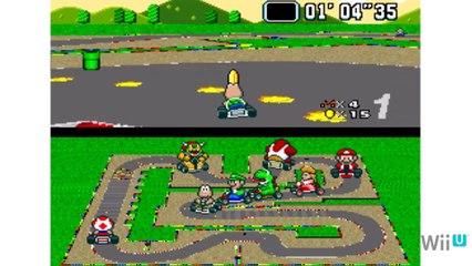 Playing Classics on the Wii U - Super Mario Kart Part 1