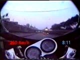 Le prince noir sur moto autour du periph