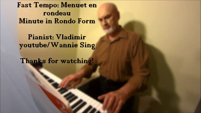 Piano lesson: Mistakes on Menuet en rondeau / how to play and correct the mistakes
