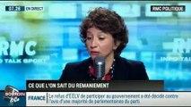 RMC Politique: Remaniement du gouvernement: Le départ des Verts complique la tâche du Premier ministre - 02/04