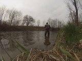 Pêche du chevesne au printemps aux leurres