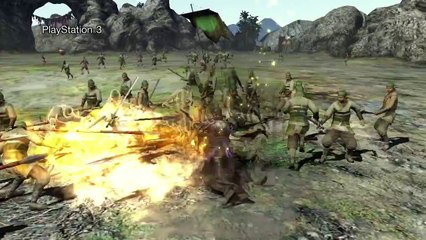 PS4 and PS3 graphics compared de Dynasty Warriors 8: Xtreme Legends Complete Edition