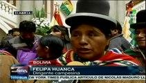 Bolivia lanza operaciones comerciales de satélite Túpac Katari