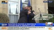 Passation de pouvoir entre Ségolène Royal et Philippe Martin