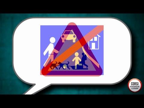 Corso per interpretare la segnaletica stradale - Parte 1