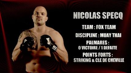 100%FIGHT 20 - REPORTAGE NICOLAS SPECQ