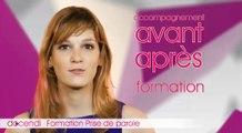 Formation Prise de parole DOCENDI -2 jours- tel :01 53 20 44 44 Formation prise de parole PARIS