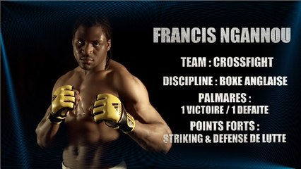 100%FIGHT 20 - REPORTAGE FRANCIS NGANNOU