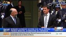 BFM Story - Édition spéciale sur l'équipe Valls: Bernard Cazeneuve succède à Manuel Valls au ministère de l'Intérieur - 02/04 1/7