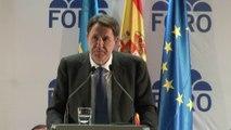 Presentación candidatura de FORO a Elecciones Europeas
