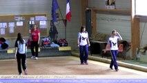 Demi-finales, Super 16 féminin, Sport-Boules, Nyons 2014