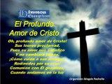 MENSAJES MUSICALES EVANGELICOS: EL PROFUNDO AMOR DE CRISTO